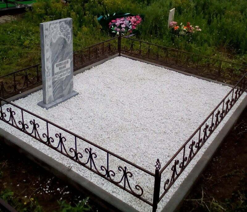 Мраморная крошка на могилку