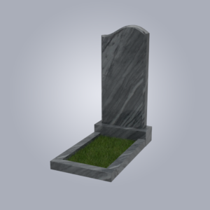 Памятник мраморный форма №14 Уфалейский серый
