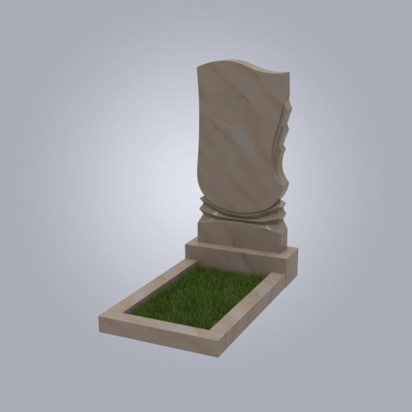 Памятник мраморный форма №56 Саянский розовый