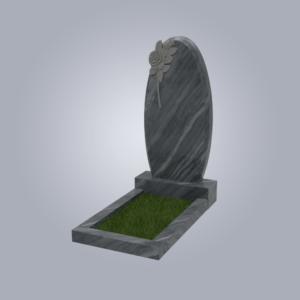 Памятник мрамрный форма №61 Уфалейский серый