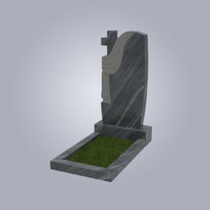 Памятник мраморный форма №94 Уфалейский серый