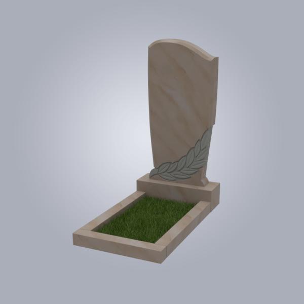 Памятник мраморный форма №96 Саянский розовый