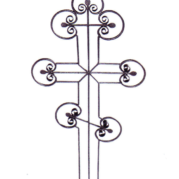 Крест металлический №7-5