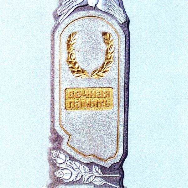 Памятник из мраморной крошки №11