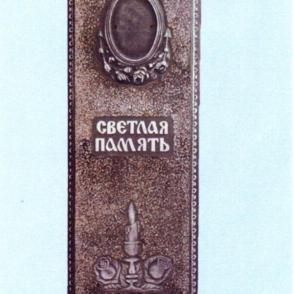 Памятник из мраморной крошки №3