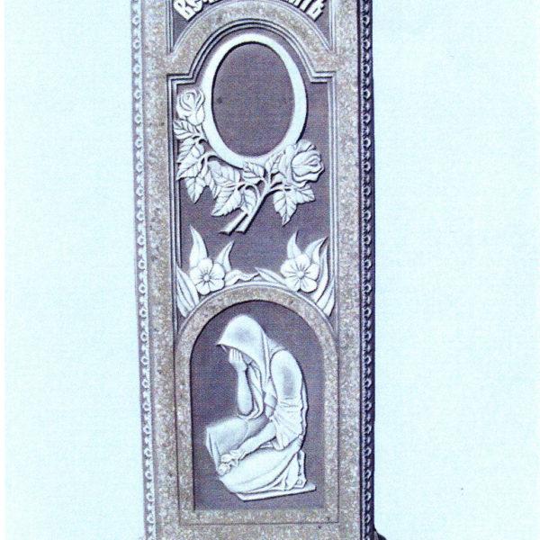 Памятник из мраморной крошки №5