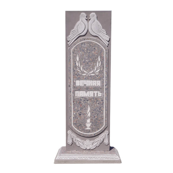 памятник из мраморной крошки №10