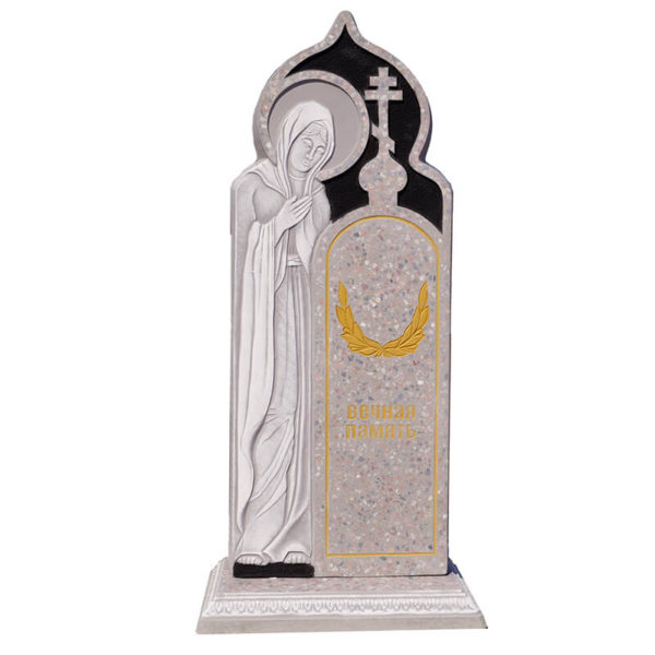памятник из мраморной крошки №26
