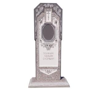 памятник из мраморной крошки №27