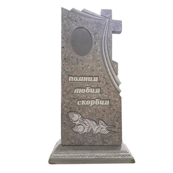 памятник из мраморной крошки №39