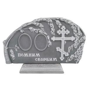 памятник из мраморной крошки №41 для двоих