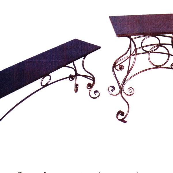 Скамейка+столик №7-27