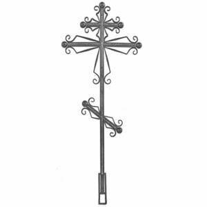 Крест №7 ажурный