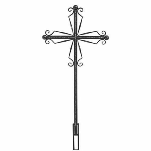 Крест №6 ажурный католический
