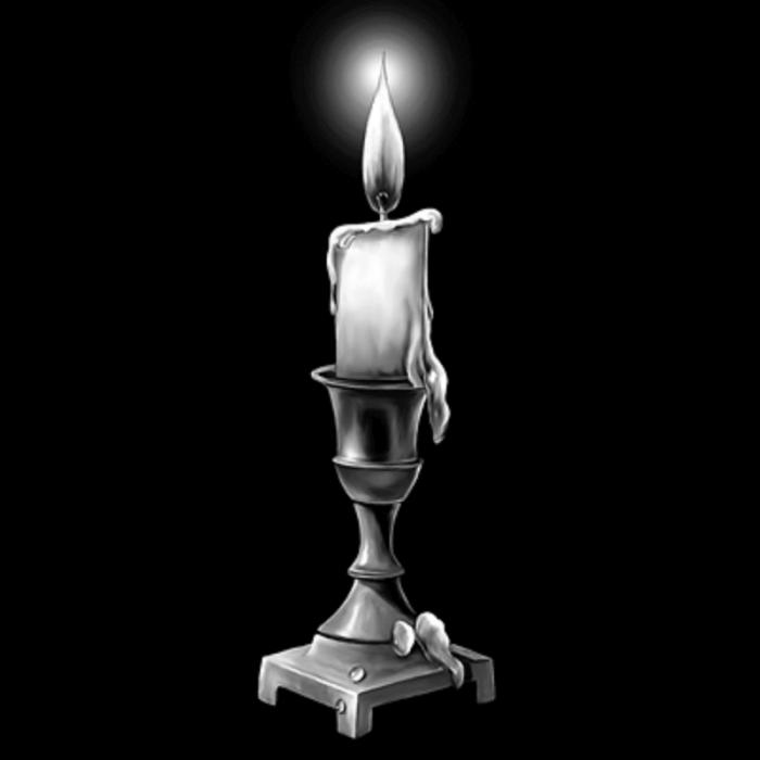 оформление памятника свеча