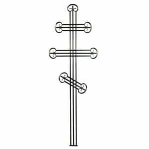 Крест металлический №2Д