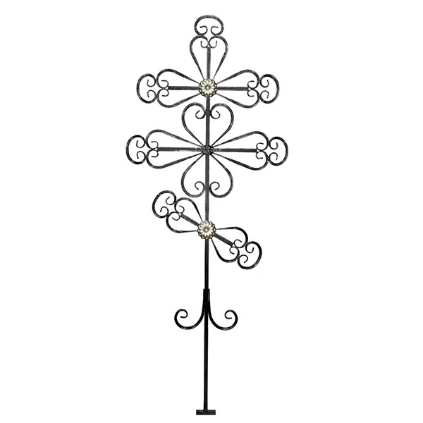 Крест металлический №3Д