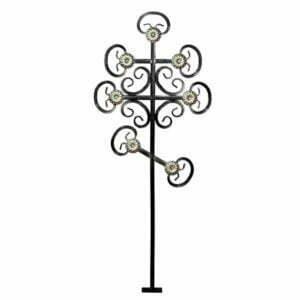 Крест металлический №5Д