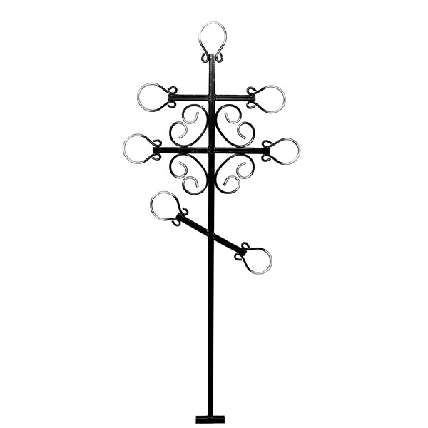 Крест металлический №6Д