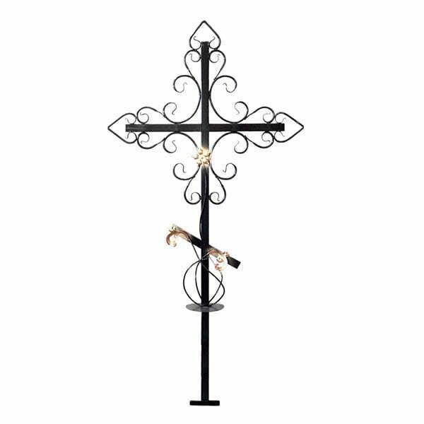 Крест металлический №7Д