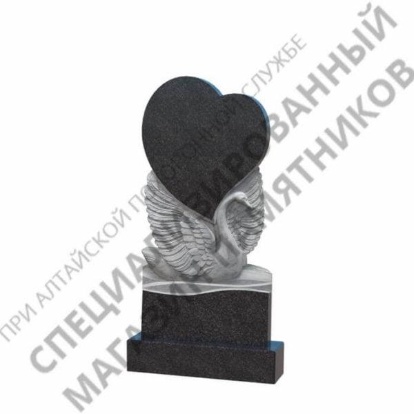 Памятник фрезерованный 11.02 сердце