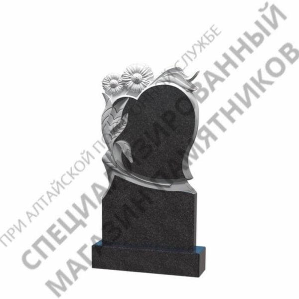 Памятник фрезерованный 11.03 сердце