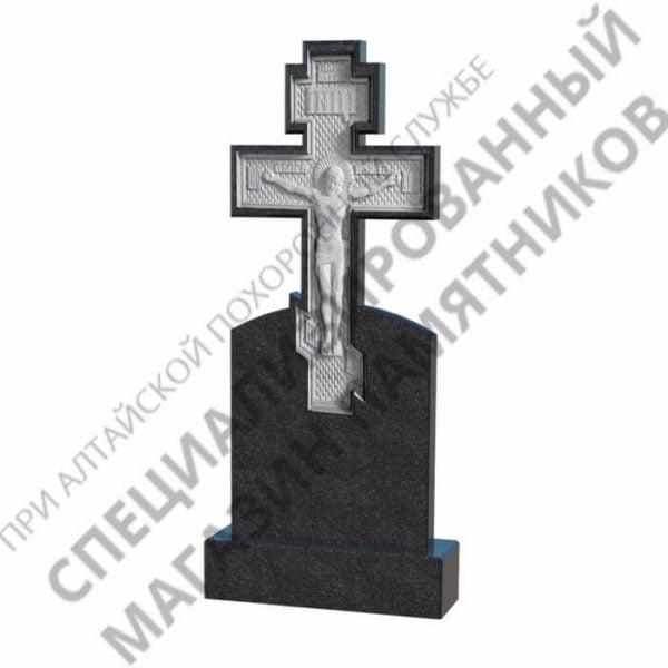 Памятник фрезерованный 05.10 крест