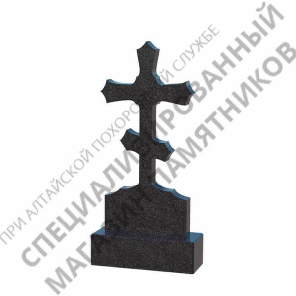 Памятник фрезерованный 05.02 крест